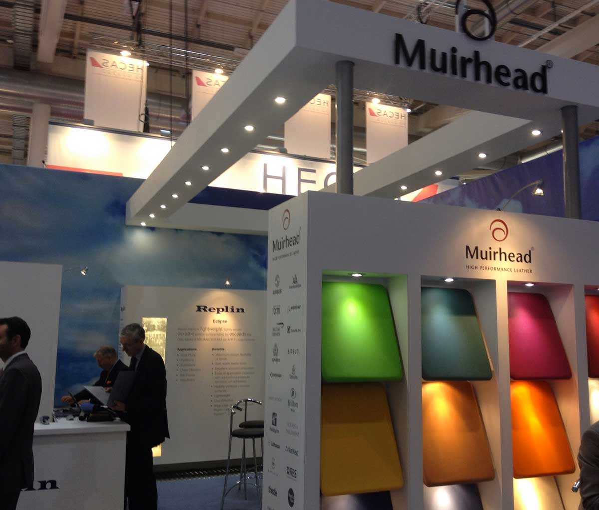 Modern Exhibition Stand Up : Aircraft interiors expo