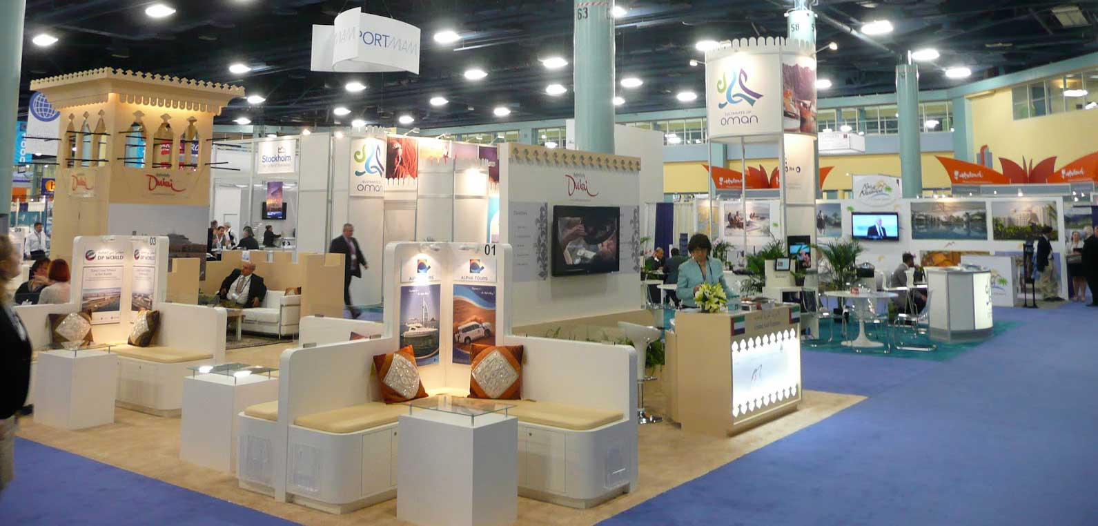 Cruise Shipping Miami Fair Booth