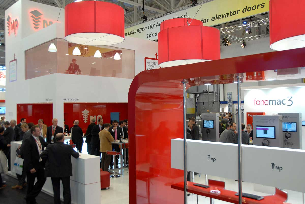 Exhibition Stand Raised Floor : Stands in interlift