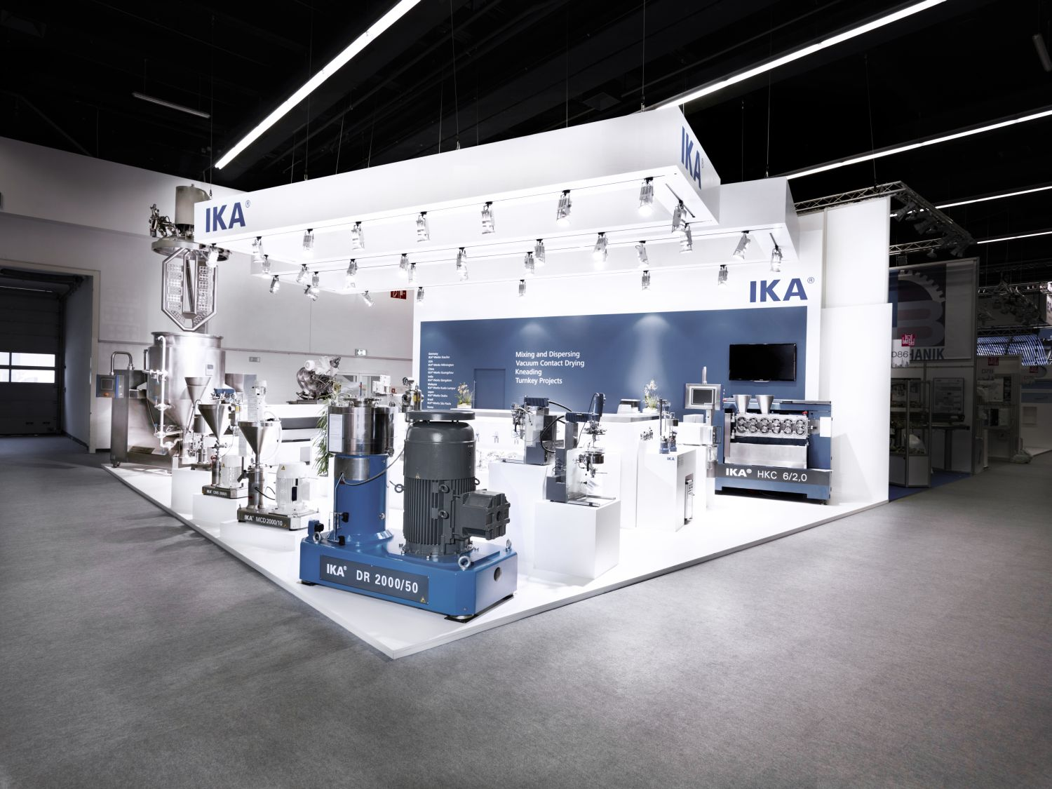 Ika Exhibition Booth Achema Frankfurt