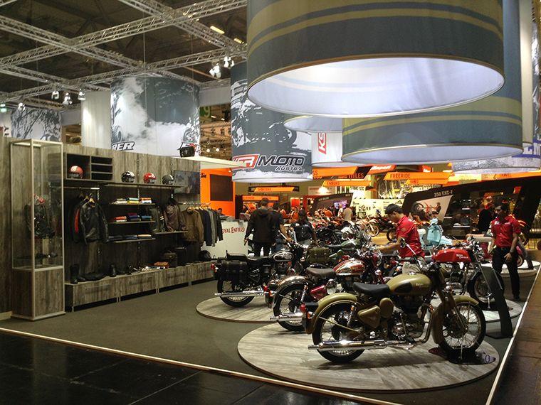 KSR Group Motorbike Stand 2014  5
