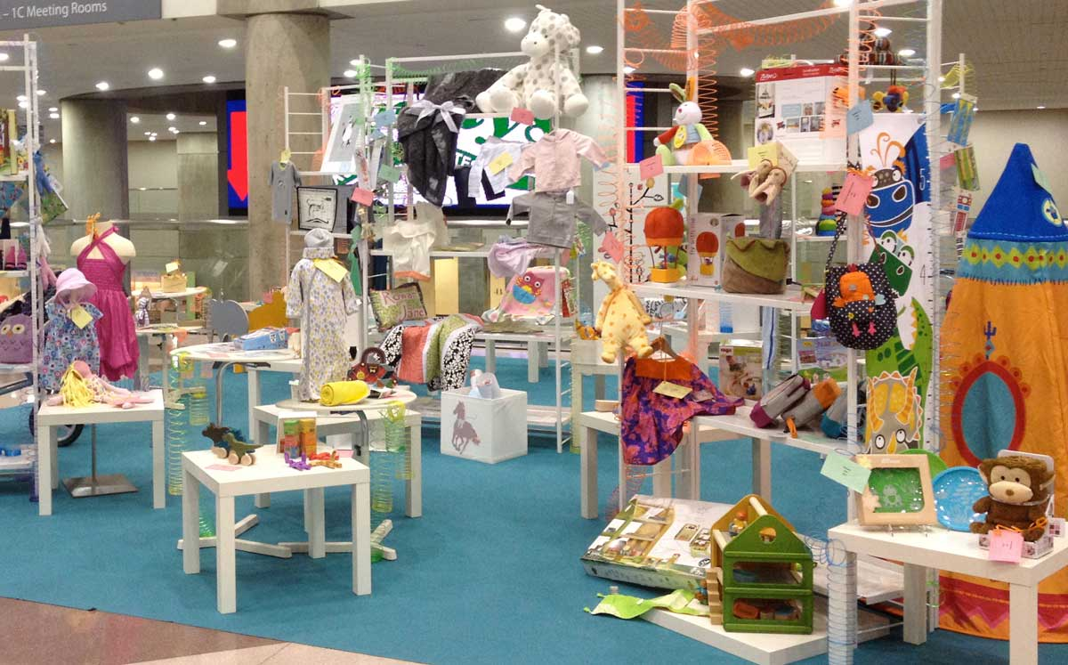 Stands in new york international gift fair for New york international gift fair