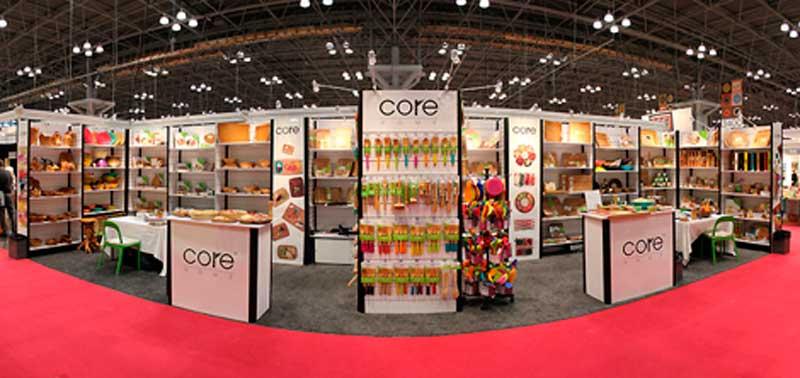 Stands in New York International Gift Fair