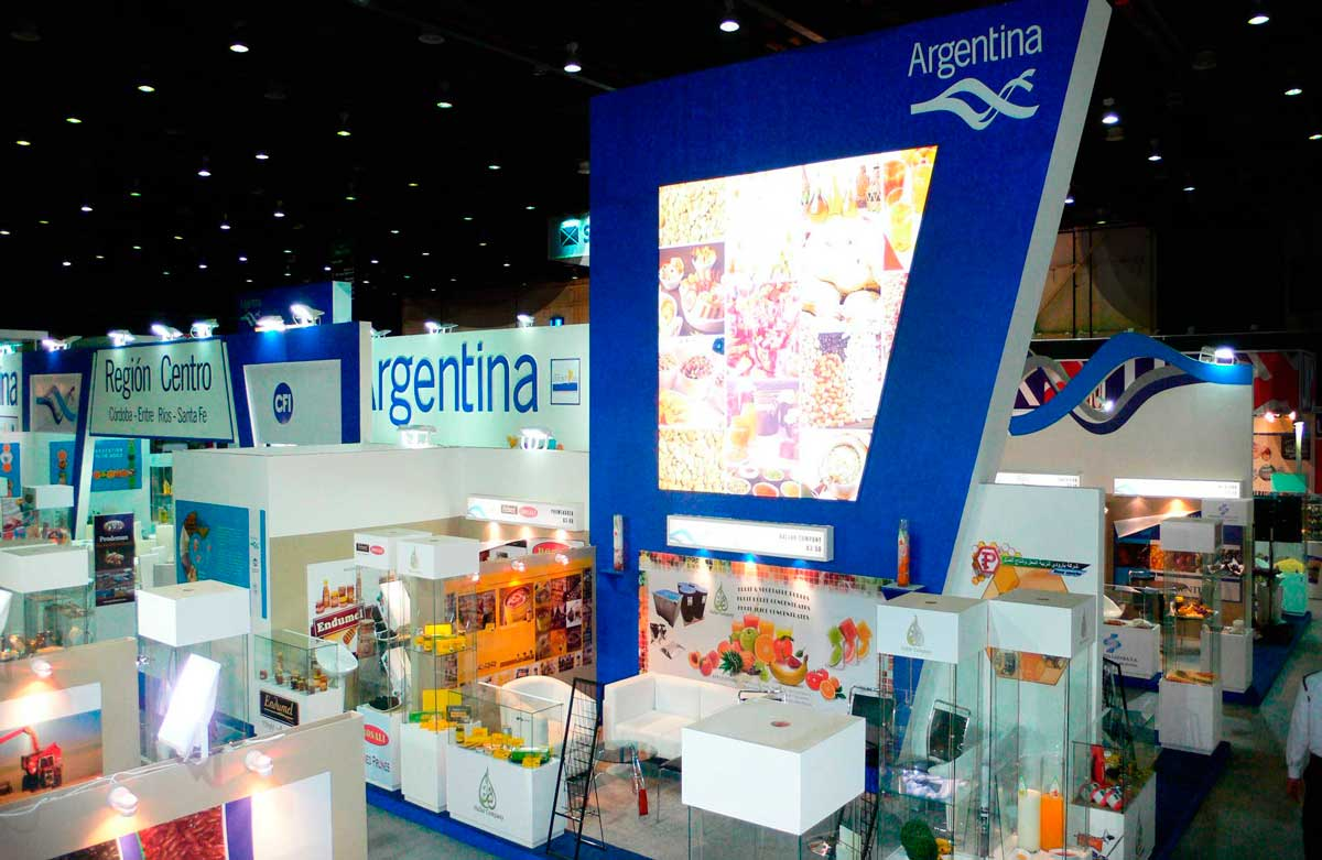 Gulfood Pavillion Stand