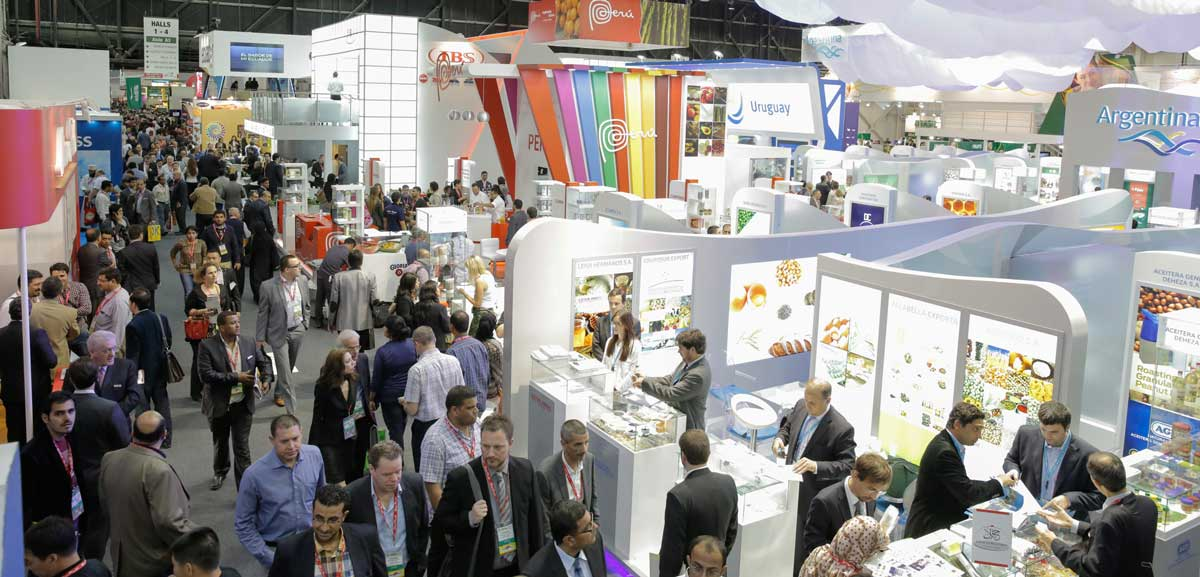 Gulfood Exhibition Area