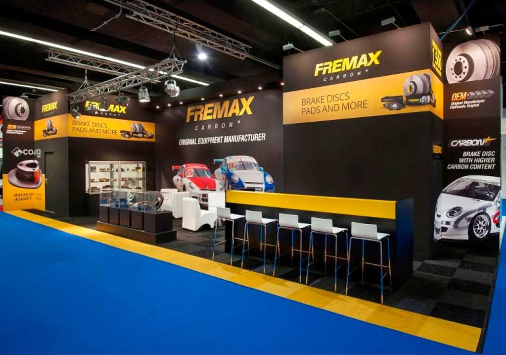 Exhibition stand design and construction at Automechanika Frankfurt 1
