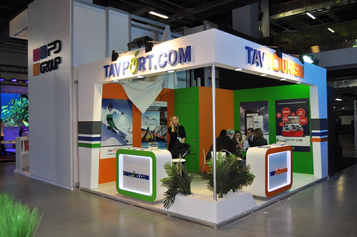 Custom Stand Design at ACE of MICE Istanbul 1