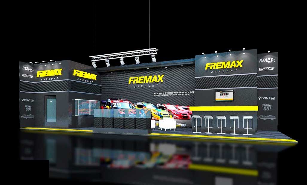 Exhibition stand design and construction at Automechanika Frankfurt 2