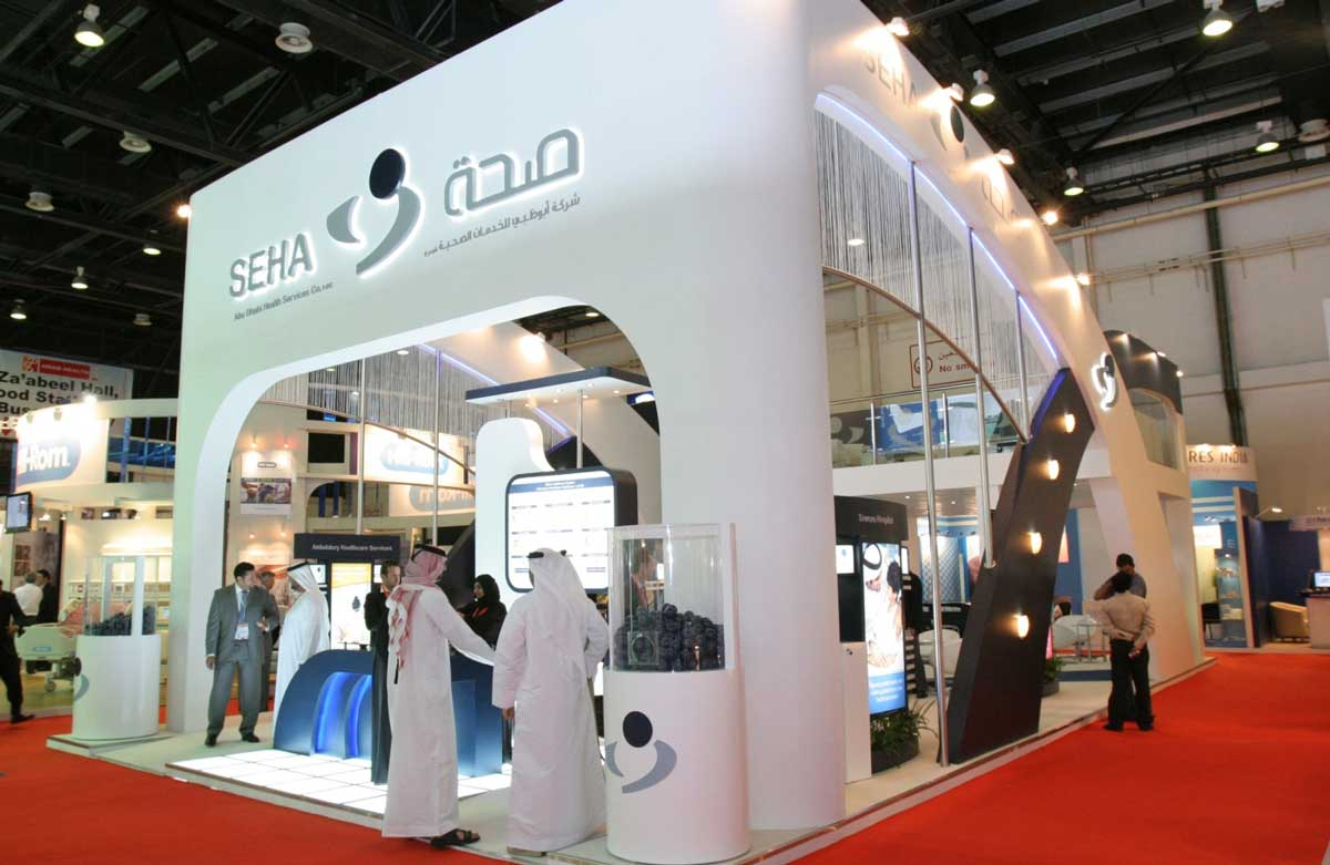 Arab Health Dubai Booth