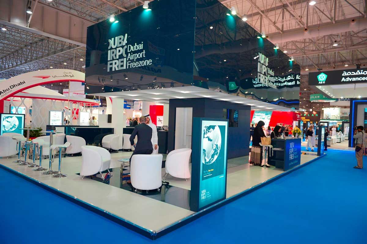Dubai Airshow Exhibition Stall