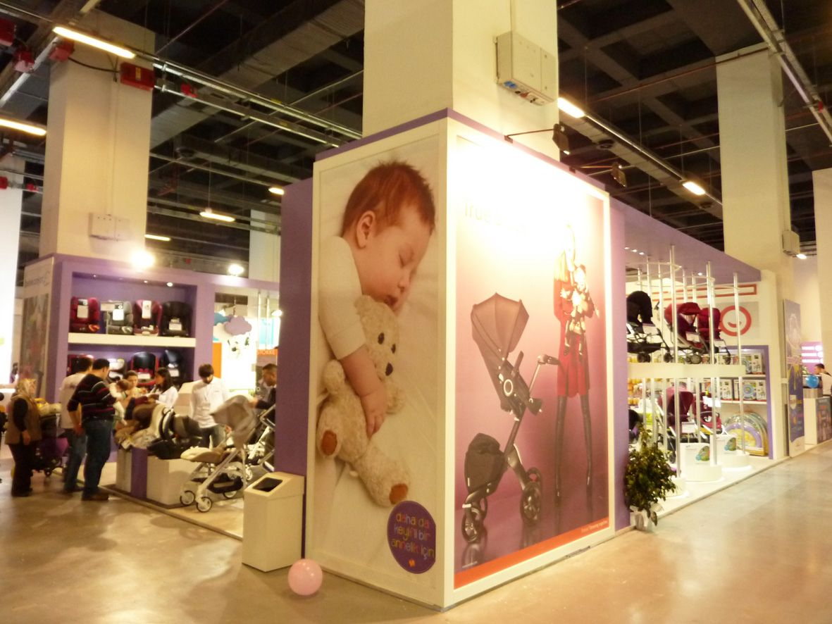 Custome Stand Design in İBS Anne Bebek Istanbul 4