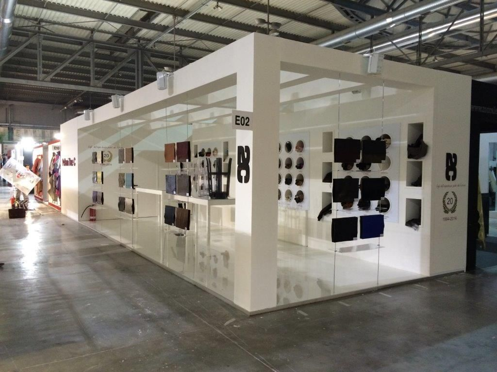 Stand design a Lineapelle Milano 2