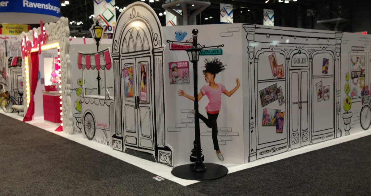 Ny Toy Fair Exhibit Stand