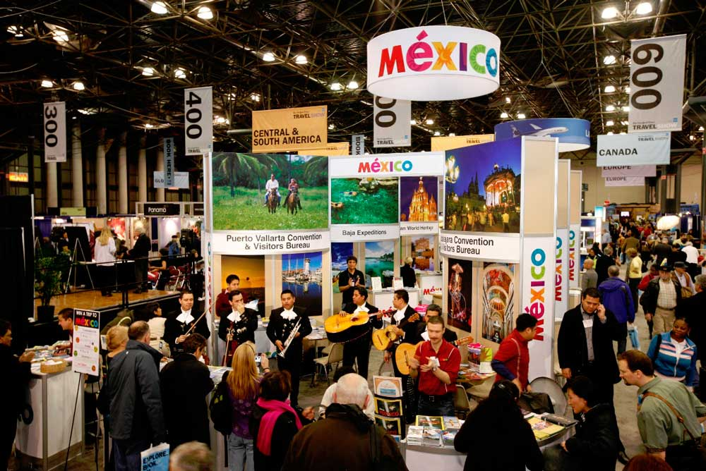 Ny Travel Show Booth