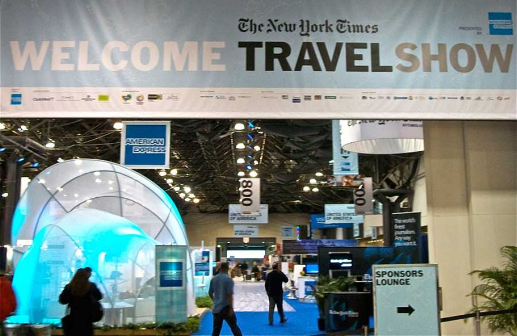 Exhibition Stand Builders New York : The new york times travel show