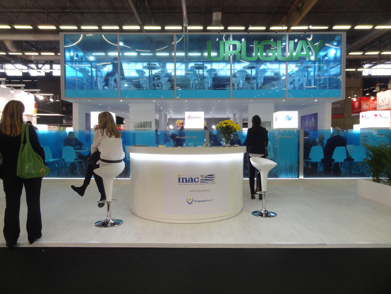 Stand de diseño para INAC en Sial París