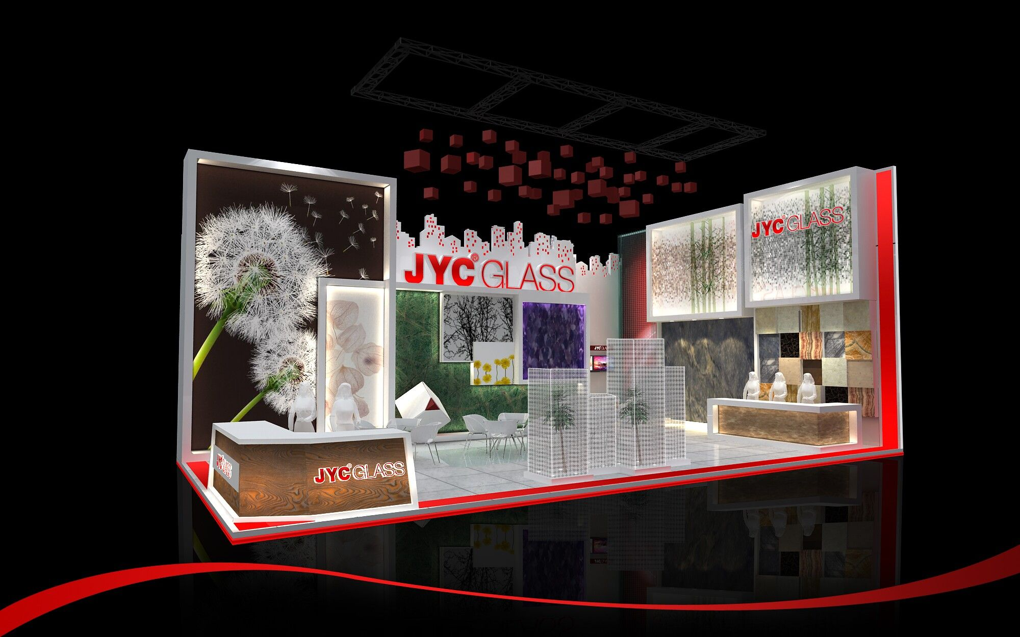 Stall design for China (Guangzhou) International Building Decoration Fair
