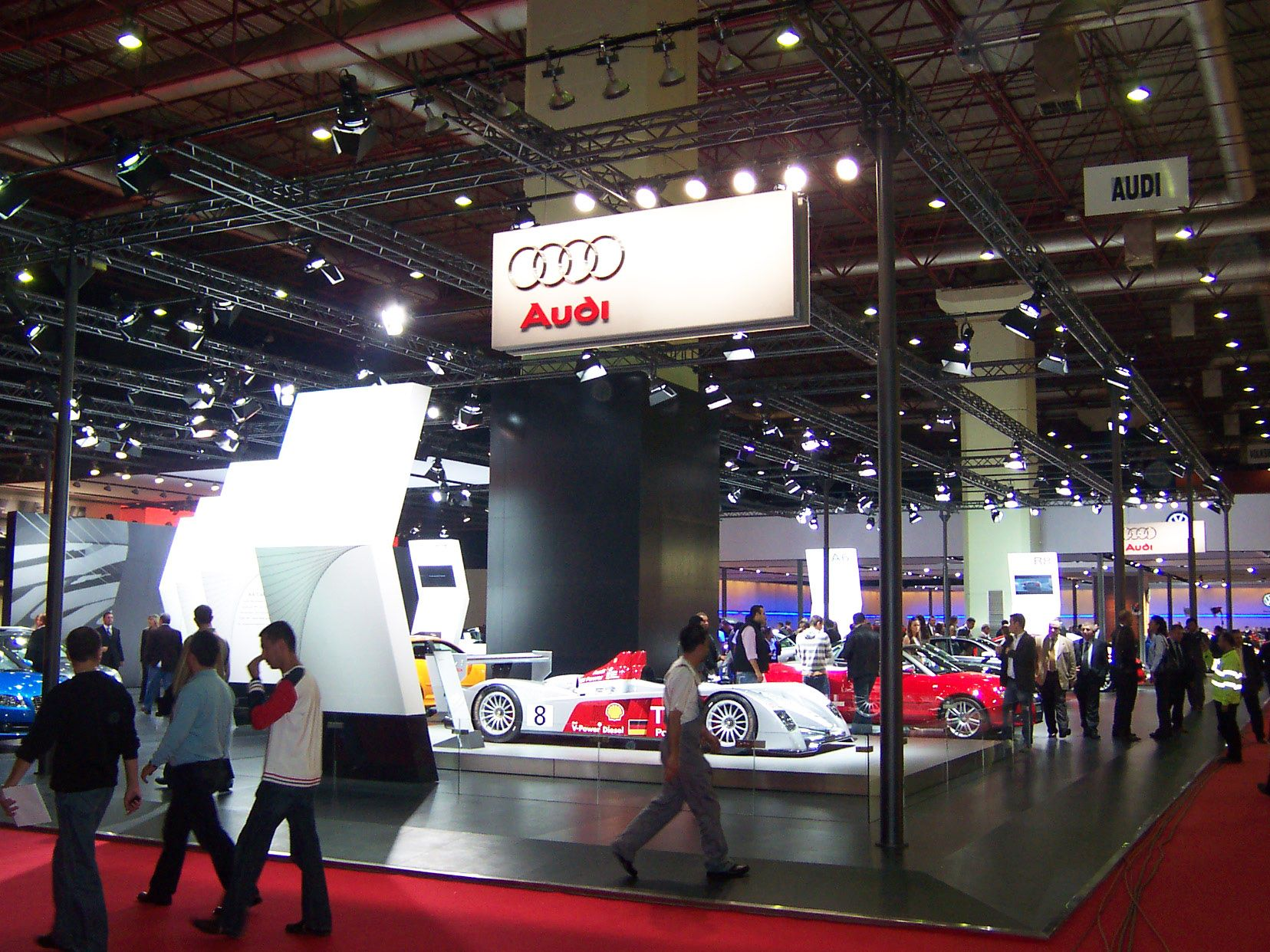 Audi Exhibition Stand at Autoshow Istanbul 1