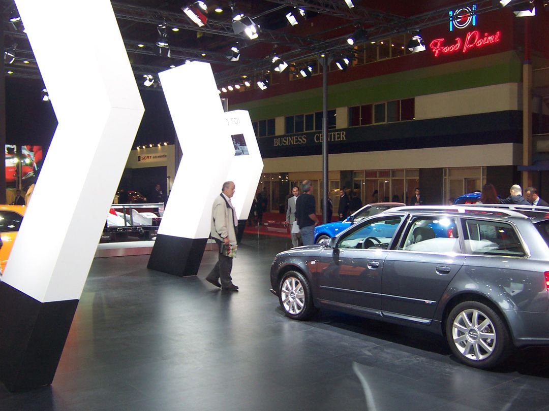 Audi Exhibition Stand at Autoshow Istanbul 2