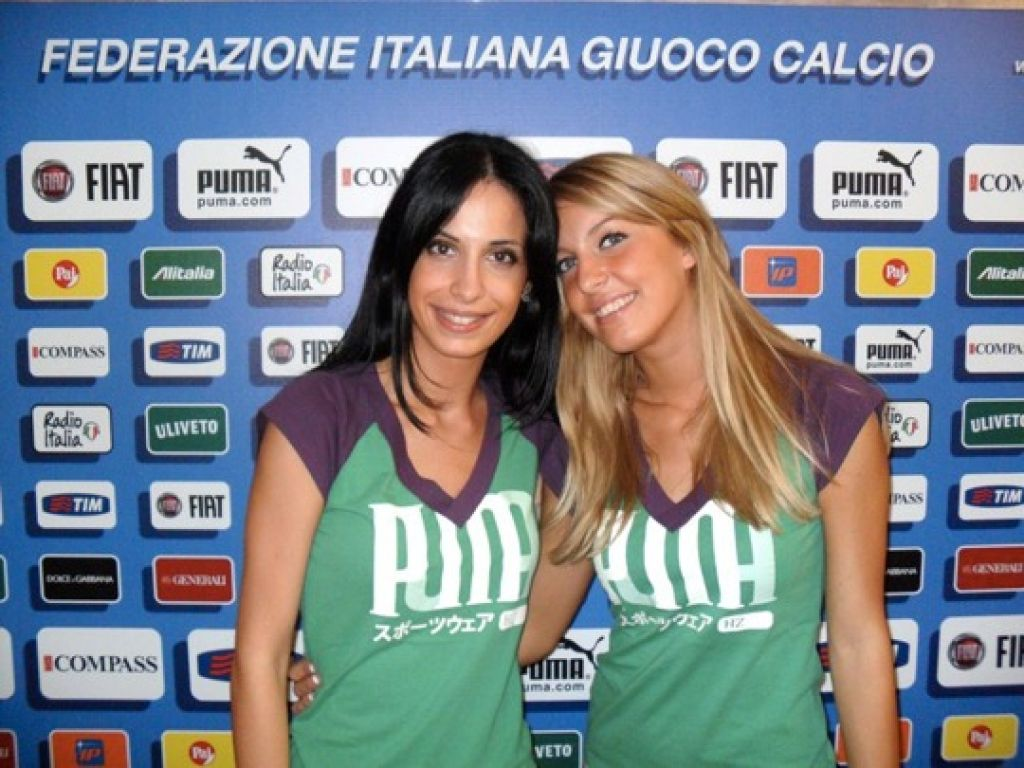 Hostesses in Italy