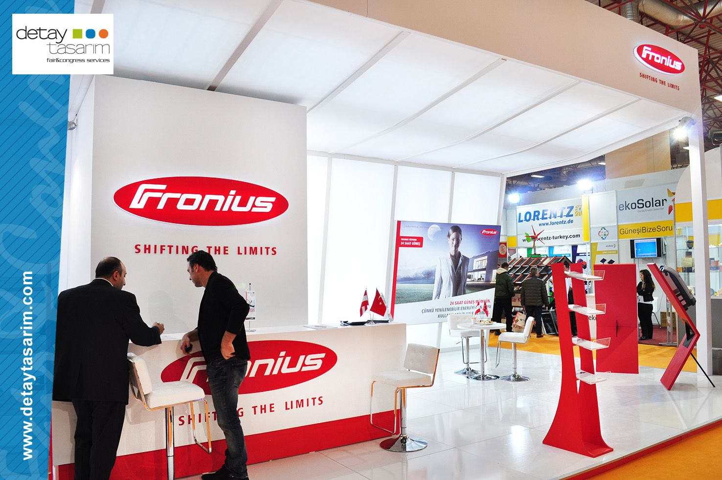 Fronius Stand by Detay Tasarım 3