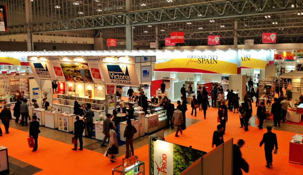 Exhibition Stand Builders In Japan : Stands in foodex japan