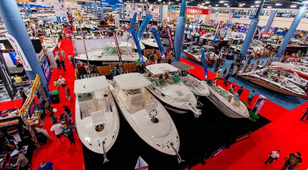 Miamiboat Show Exhibition Area