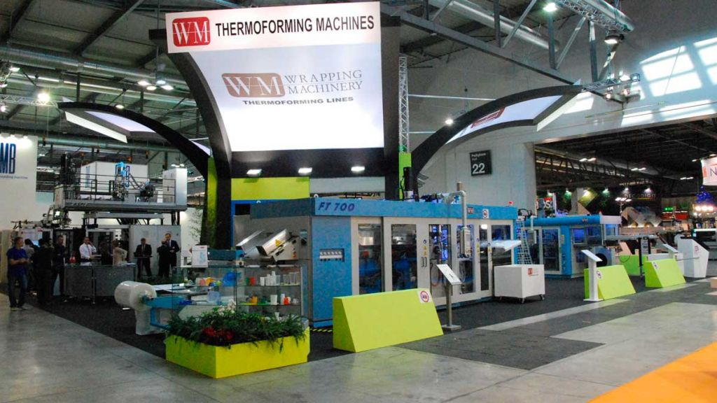Plast Expo Milan Exhibition Stand