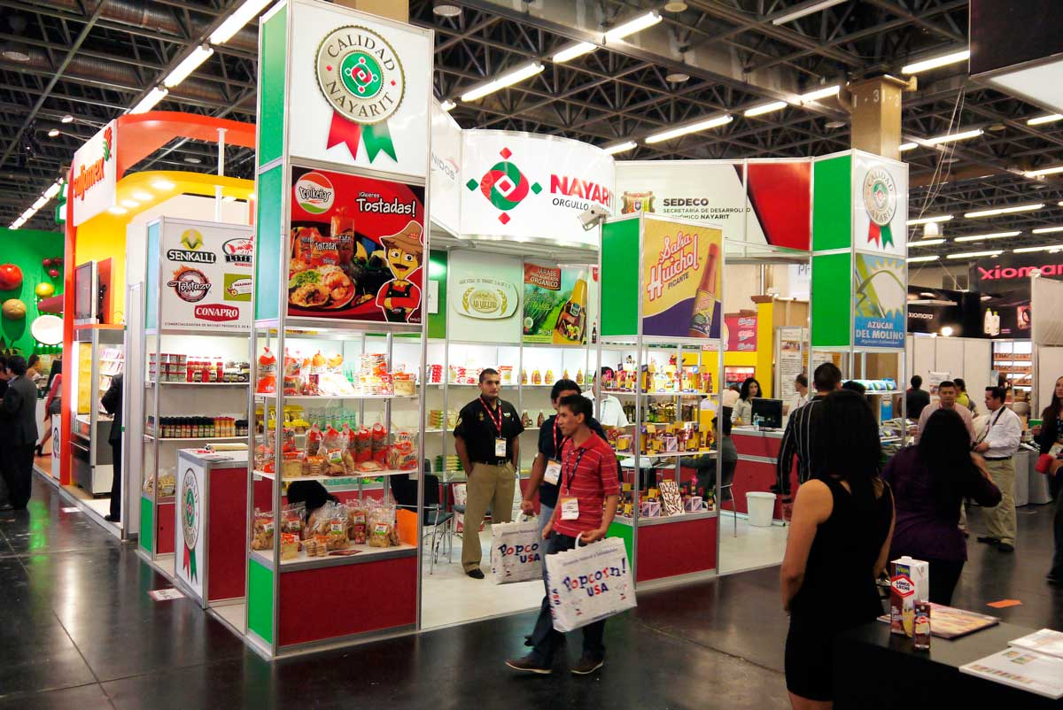 Exhibition stands in guadalajara for Un stand