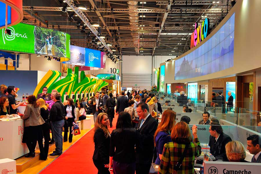 London Exhibition Pavillion At Wtm