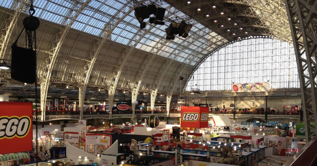 Toy Fair Btha London Exhibiiton Area