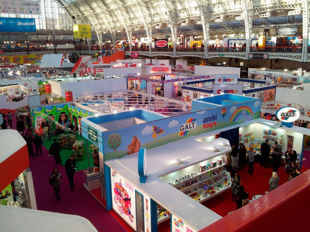 Toy Fair Btha Stand Area