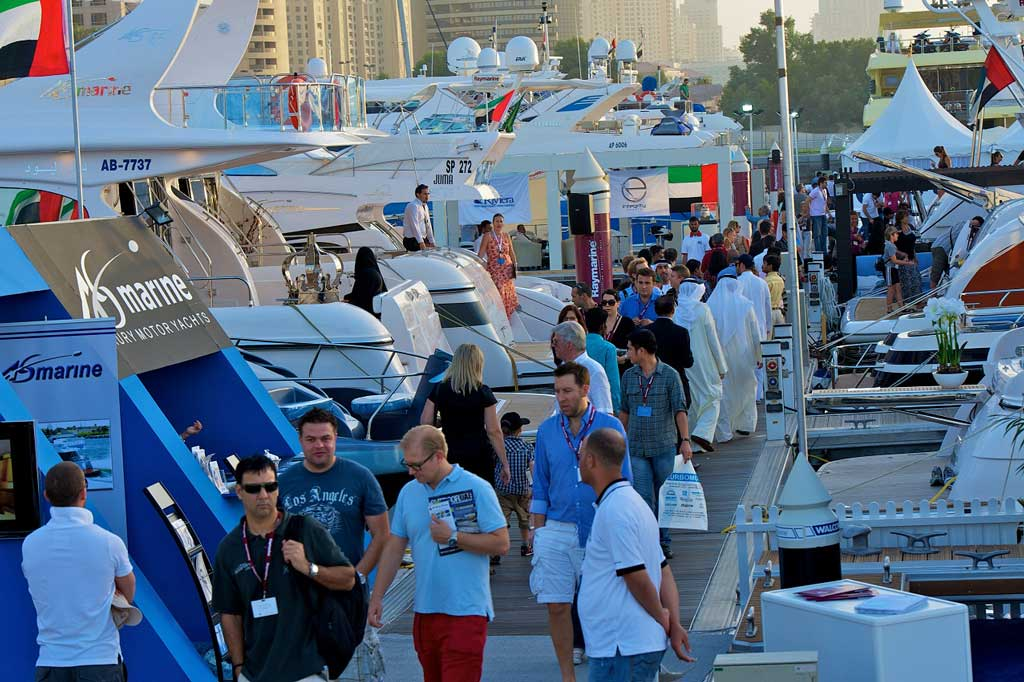 Dubai International Boat Show Exhibition Area