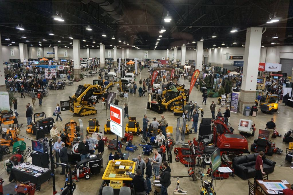 Exhibition Area Of Progreen Denver