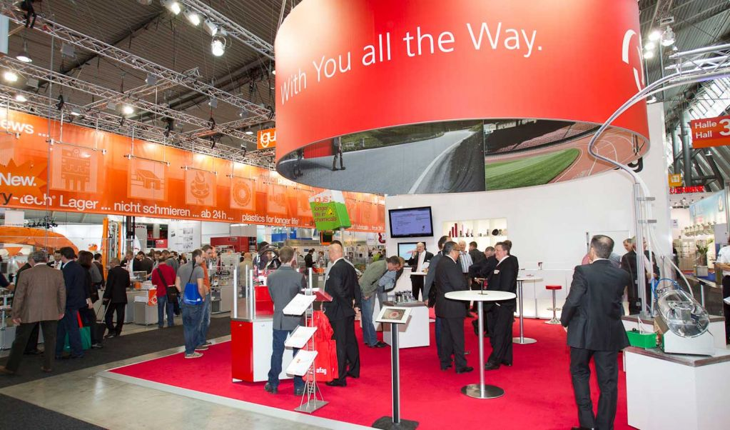 Exhibition Stand Assembly : Stuttgart motek international fair for automation in
