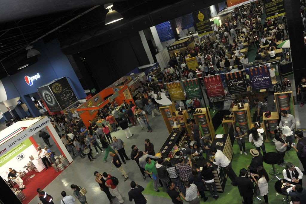 Area De Exhibitci N Gorumet Show En Mexico