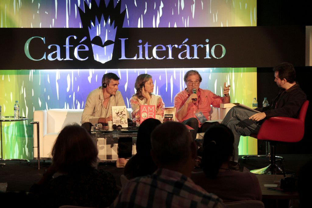 Literary Cafe At Rio Book Fair