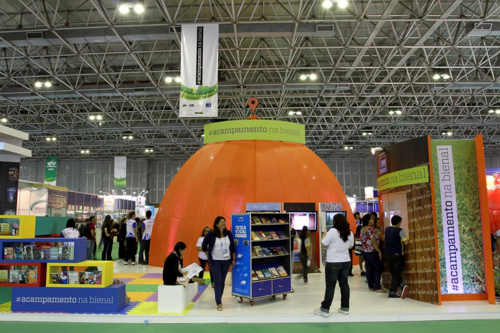 Rio Book Fair Exhibition Area