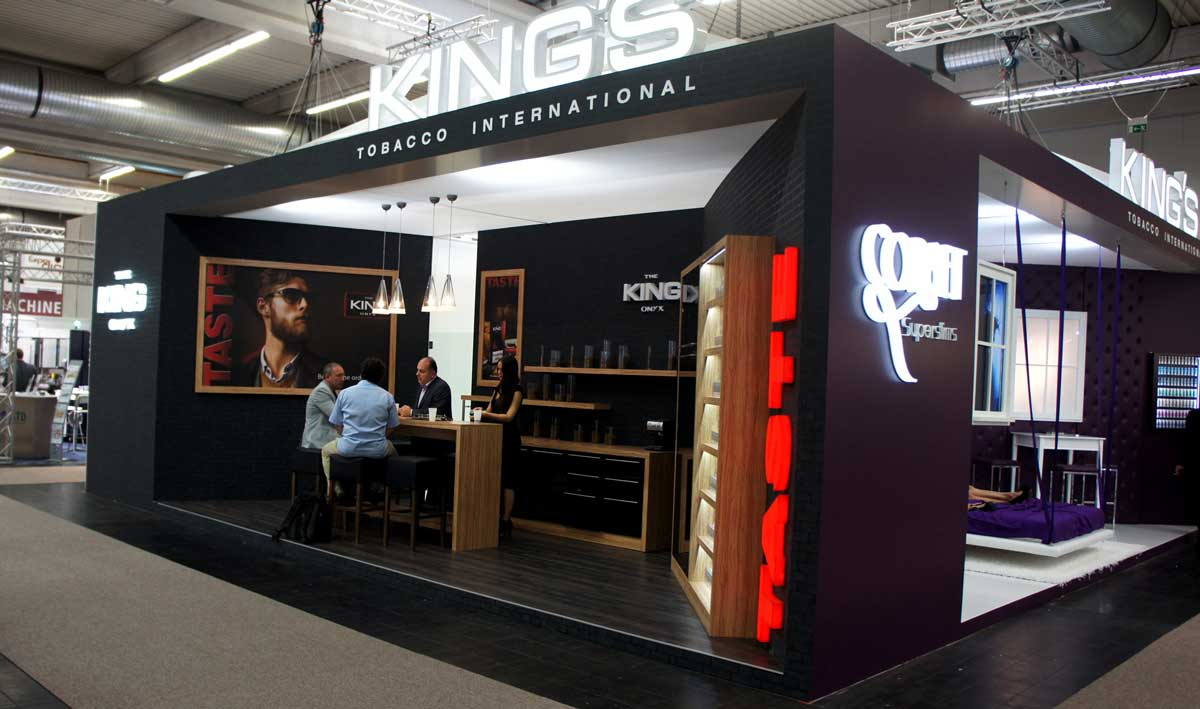 Exhibition stands in dortmund for Inter designing