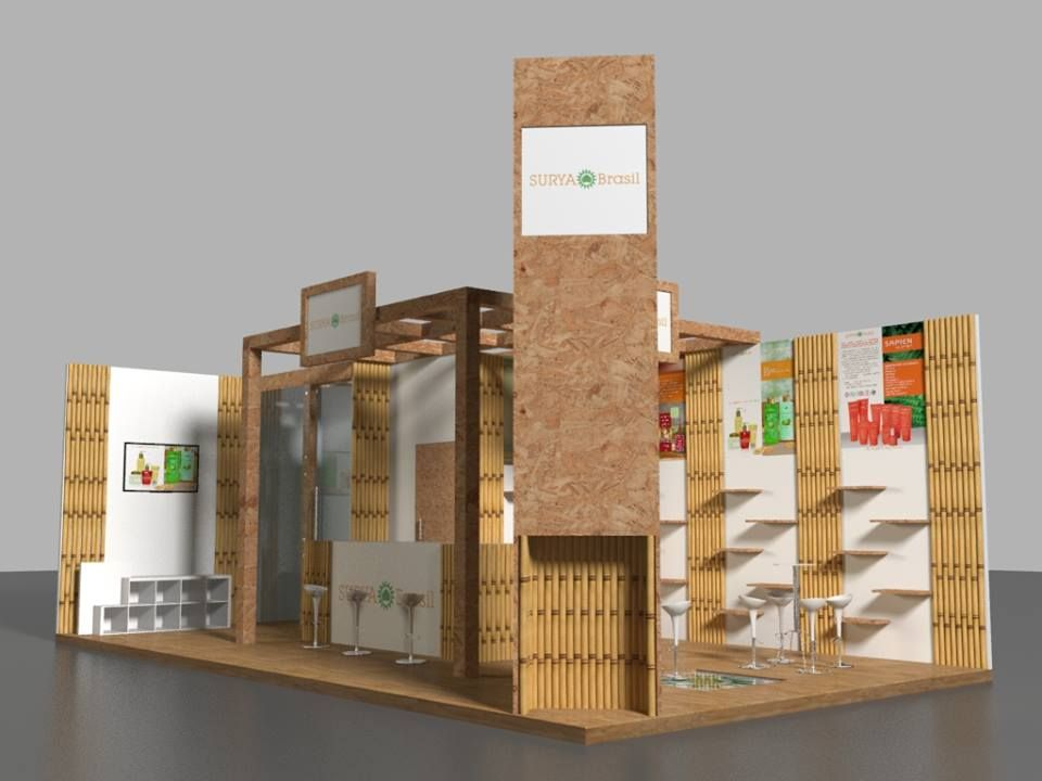 Exhibition Stand design at Sao Paulo Beauty Fair