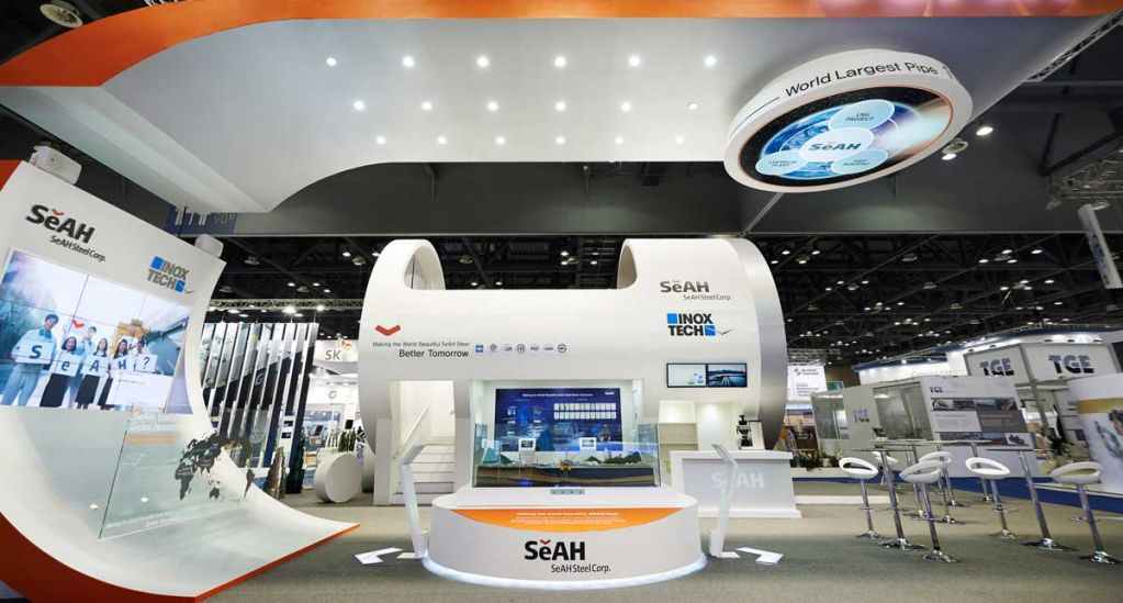 Exhibition Design At Gastech Expo In Singapore