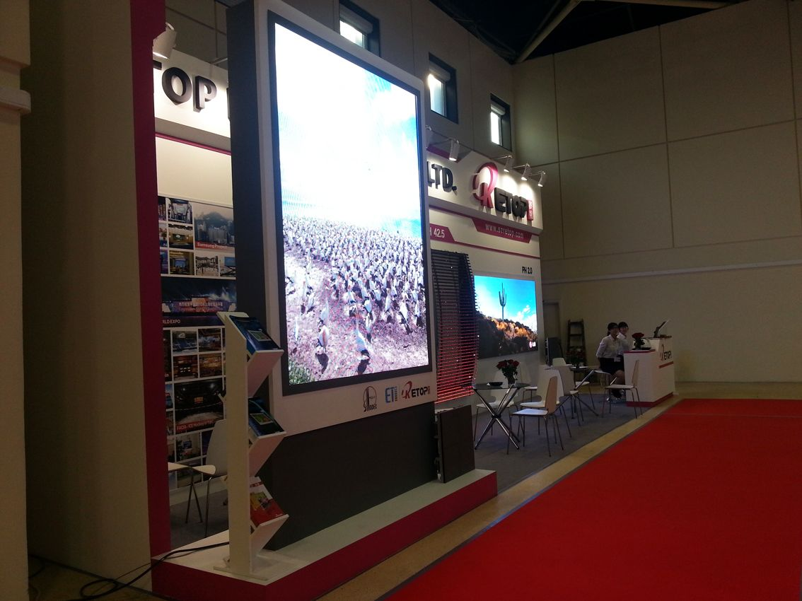 Integrated Systems Russia 2014 booth construction projects 8