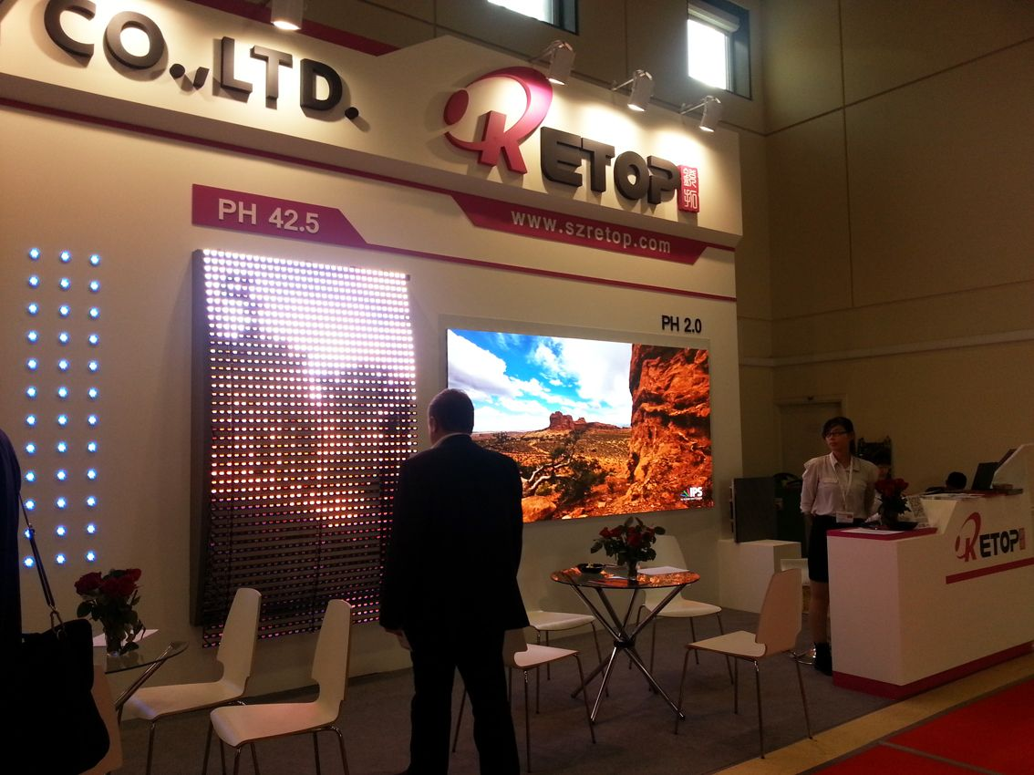 Integrated Systems Russia 2014 booth construction projects 10