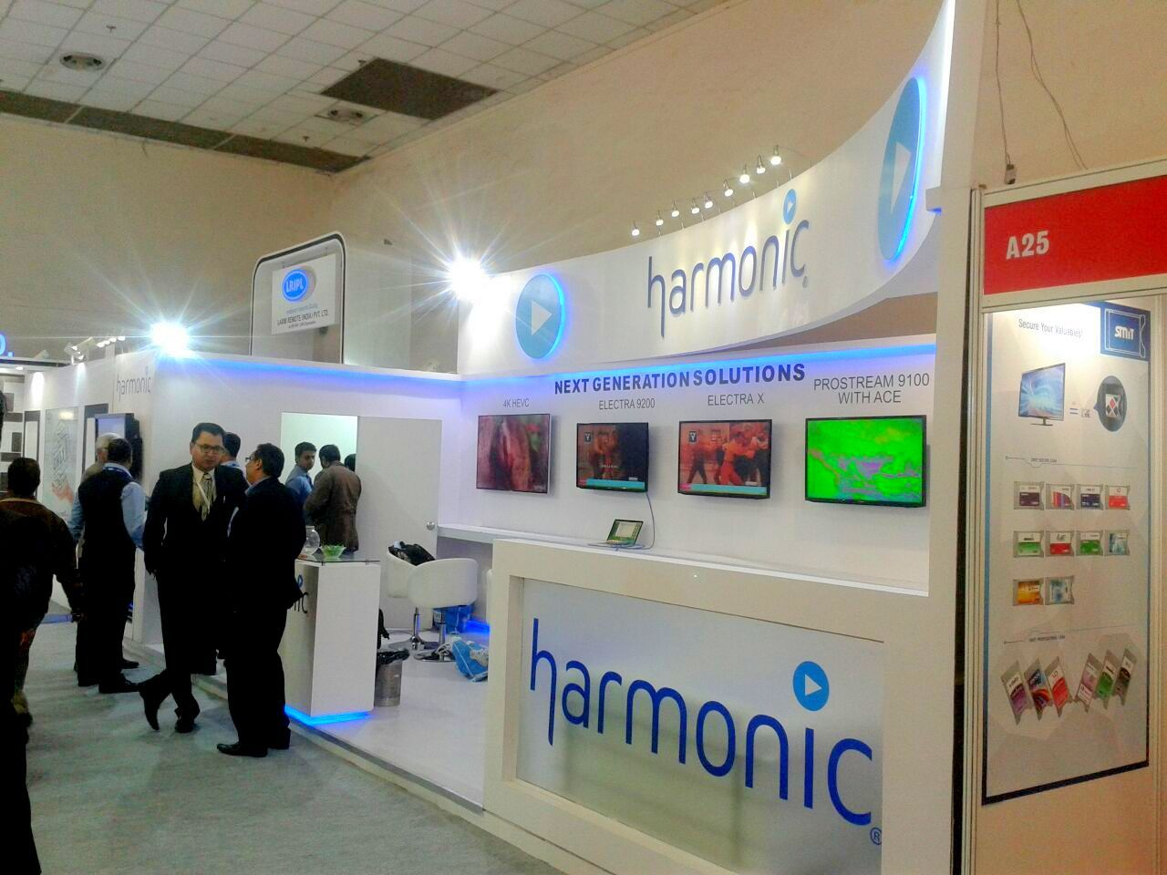 Exhibition Stand design at Convergence India 4