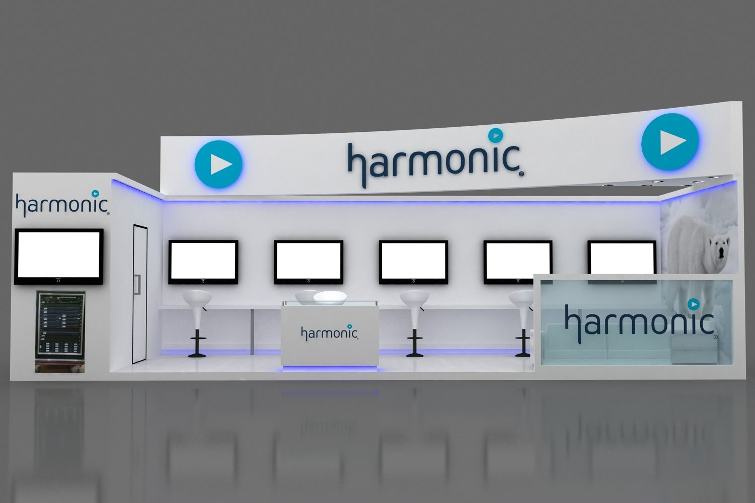 Exhibition Stand design at Convergence India 1