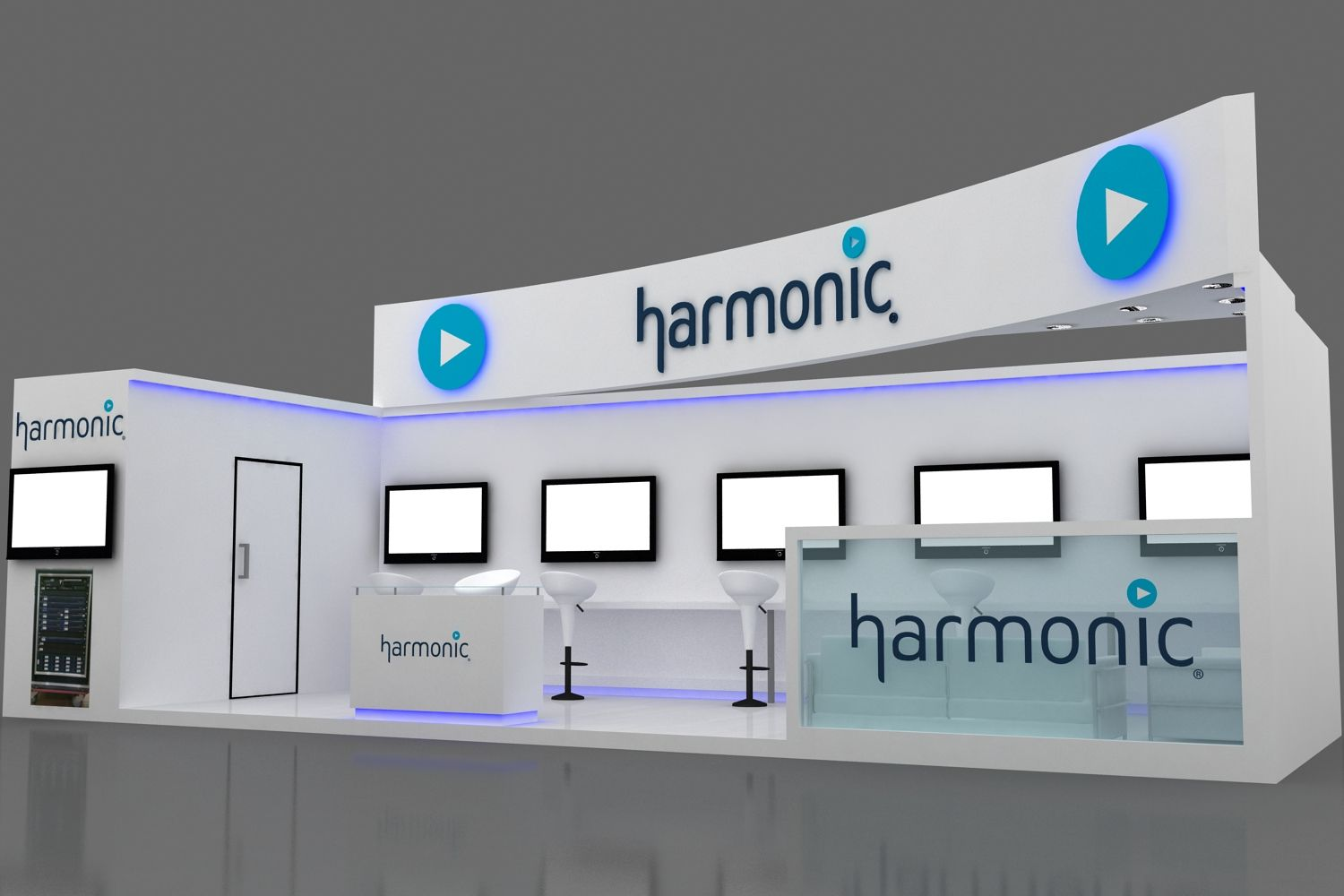Exhibition Stand design at Convergence India 2