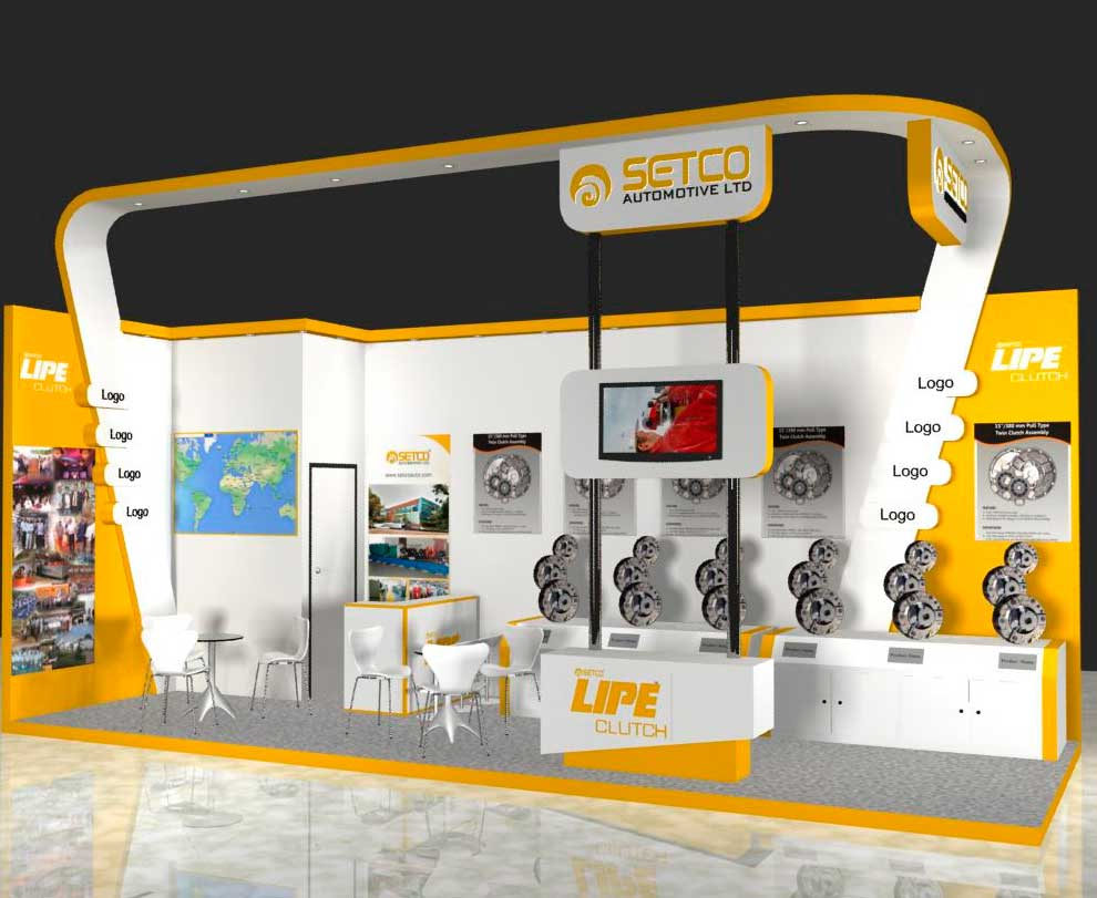 Automechanika Middle East Exhibition Design