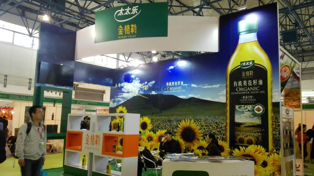 China Olive Oil Exhibition Stand