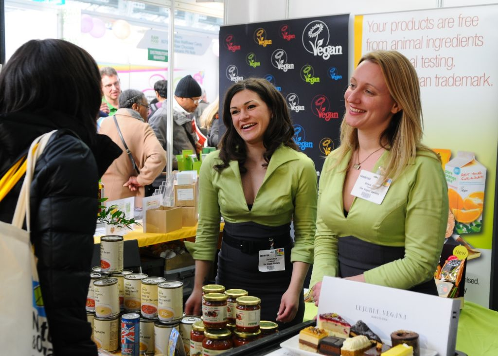 London Natural Organic Products Europe Stand
