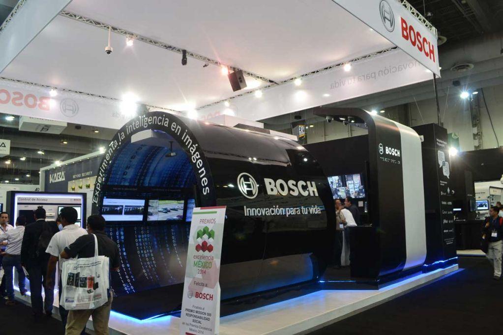 Expo Seguridad Mexico Booth